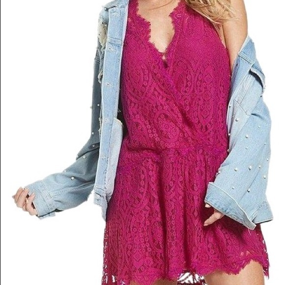 e1c1be23d0981 Anthropologie Dresses | Free People Nwt Bright Orchid Heart In Two ...